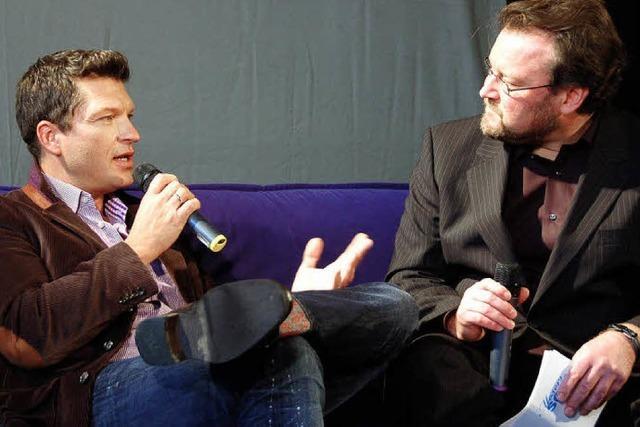 Sofa-Talk nach Waidmannsart
