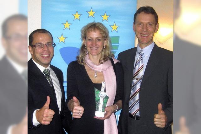 Europa-Lob für das Öko-Bekenntnis
