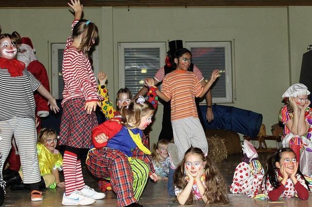 Zirkus können die Kleinen