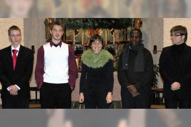 Orgeladvent mit exotischen Tupfern