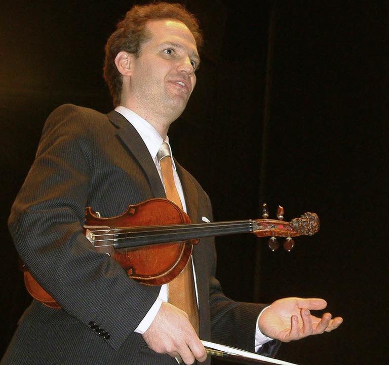Michael Jelden überzeugte als selbstbewusster Solist.     Foto: frey