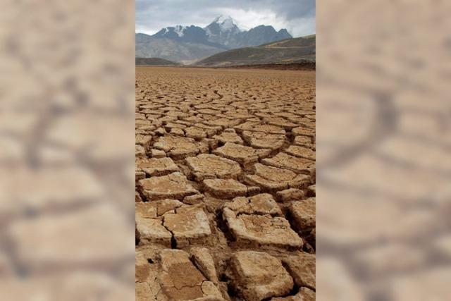 Der Titicacasee verdampft
