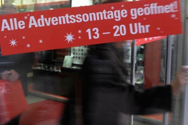Verfassungsgericht stoppt Shopping an Adventssonntagen