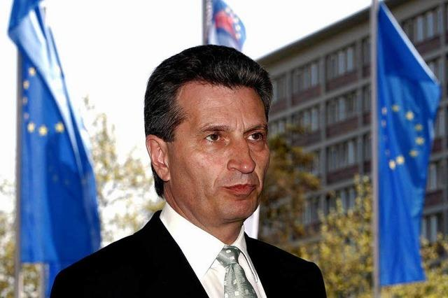 Oettingers Job ist reizvoll