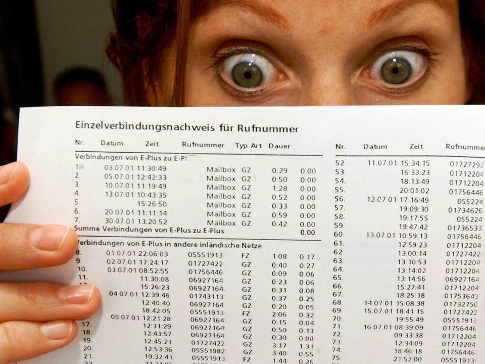 Böse Überraschung, wenn die Rechnung  explodiert  | Foto: Frank May
