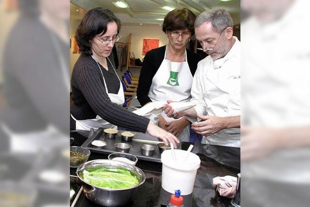 Vom Profi kochen lernen