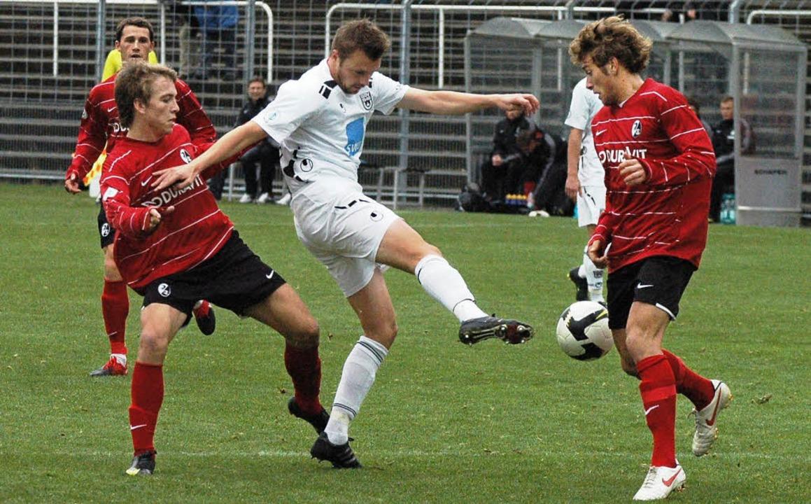 Auffällige Wettscheine:  Das Spiel SC ...aljevic) soll manipuliert worden sein.    Foto: Zimmermann