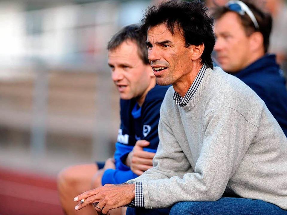 Neue Trainer sind beim SV Weil Maximil...rter (rechts) ist schon länger dabei.   | Foto: Meinrad Schön