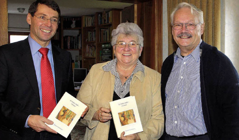 Präsentieren das Ettenheimer Mundartbu...istel Mösch und  Martin Winterhalter    | Foto: Ulrike Hiller