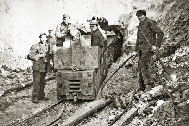 Bergleute kommen aus Schlesien