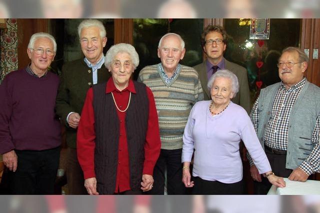 Der Skiclub wurde 60 Jahre alt
