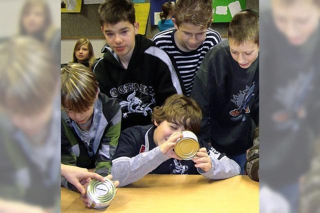 Gymnasiasten sammeln für Wildtierstation