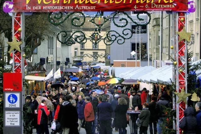 Weihnachtsmarkt im Belagerungszustand