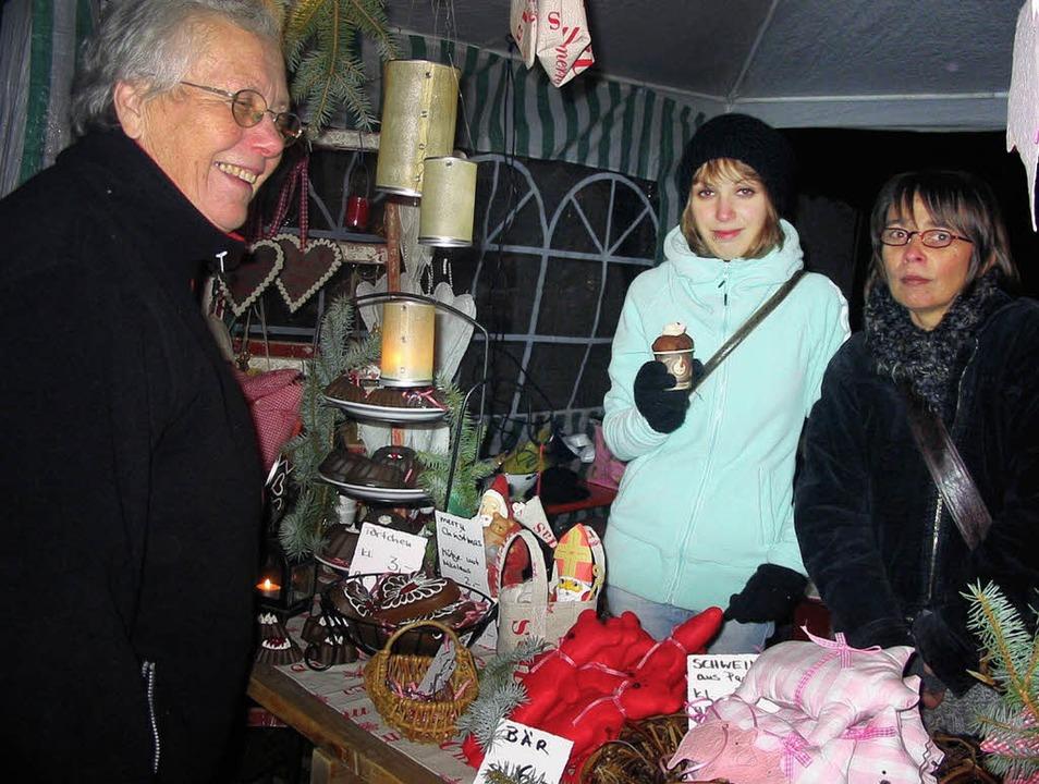 Nollinger Weihnachtsmarkt  | Foto: Jutta Rogge