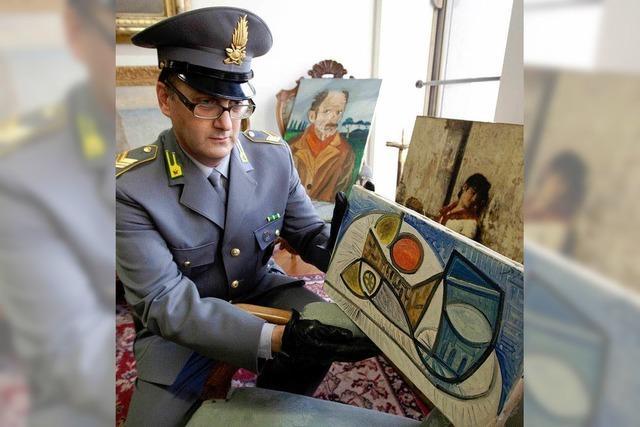 Picasso im Keller
