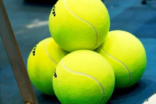 Tennisspieler ermitteln in Offenburg ihre Meister