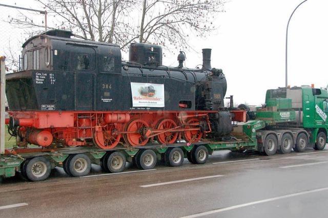 Lok 384 bald wieder unter Dampf