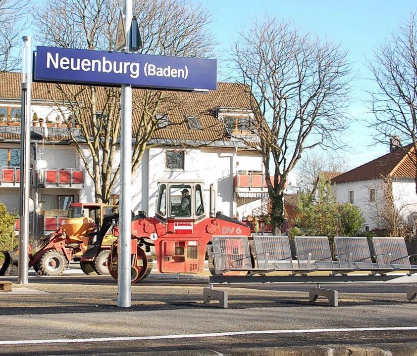 Noch ist  es  ruhig   am Bahnsteig in ... Ab Montag  wird  sich das  ändern.     | Foto: Christina Böhm