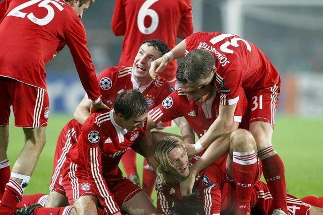 Bayern München im Jubeltaumel nach Sieg über Juventus Turin