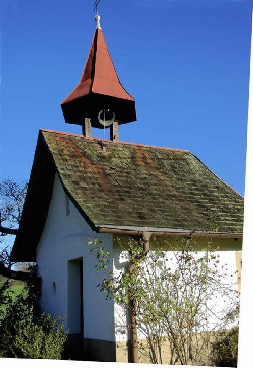 Das läutende Glöcklein am Kapellenhof      Foto: Frank Kiefer
