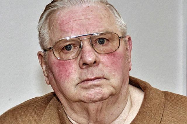 Franz Menner wird heute 75