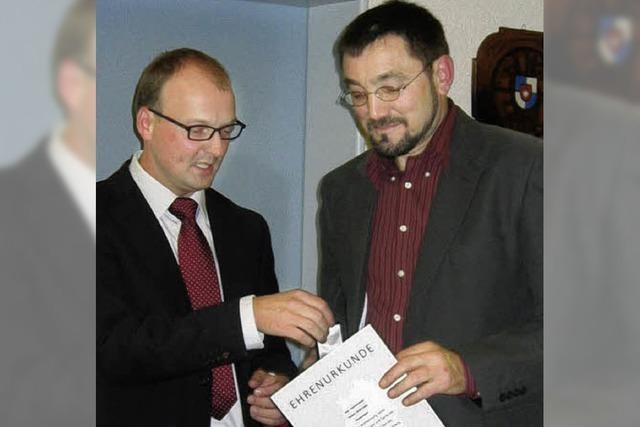 Moosmann dankt den Stellvertretern