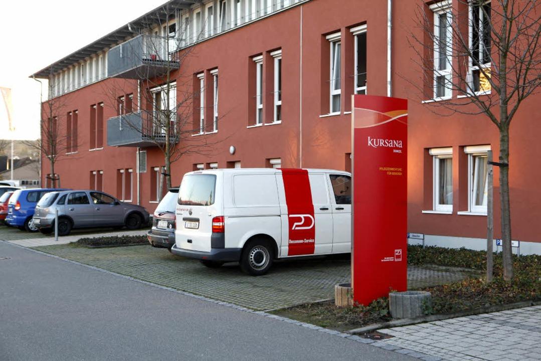 Das Seniorenzentrum wird erweitert.     Foto: Christoph Breithaupt