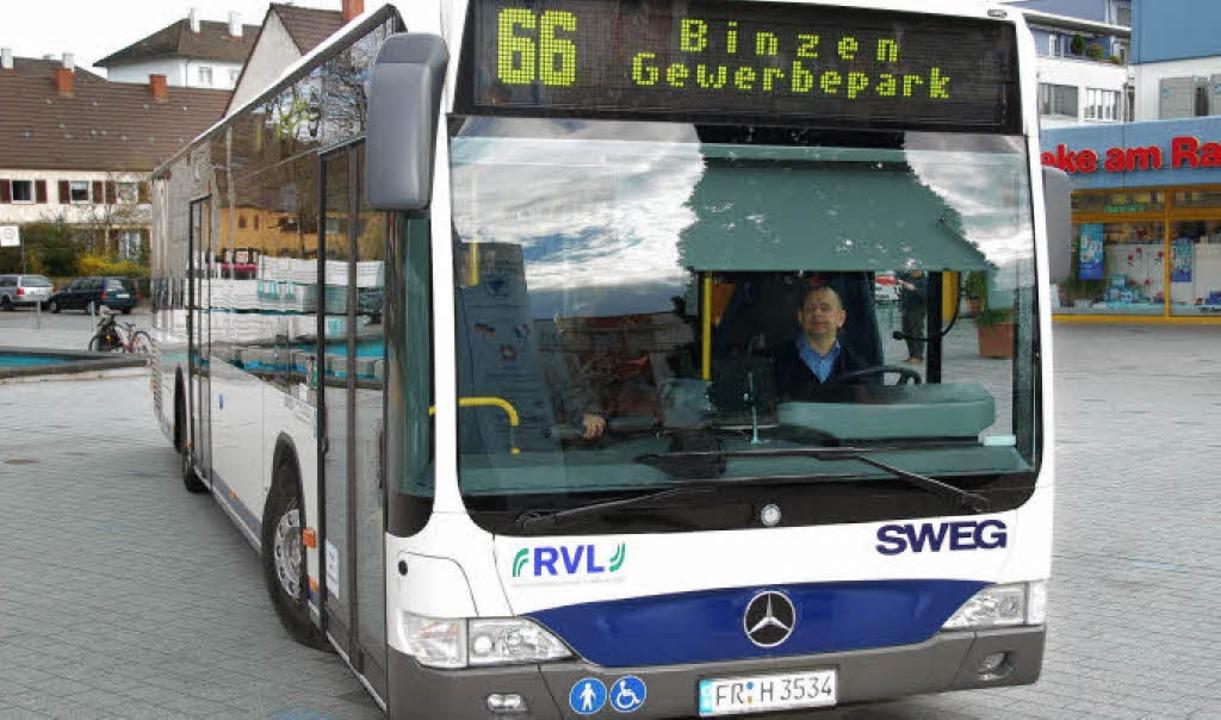 Der Frühbus der Linie 66 um 5.32 Uhr wird gestrichen.     Foto: lauber