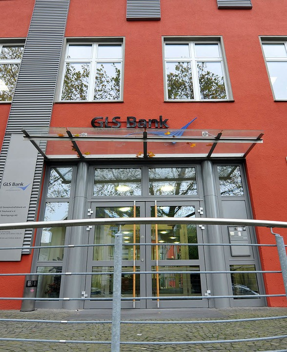 Eine Gemeinschaftsbank für Leihen und Schenken:  die GLS   | Foto: dpa