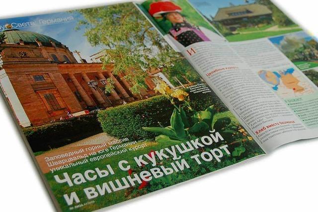 St.Blasien wirbt in Russland um Touristen