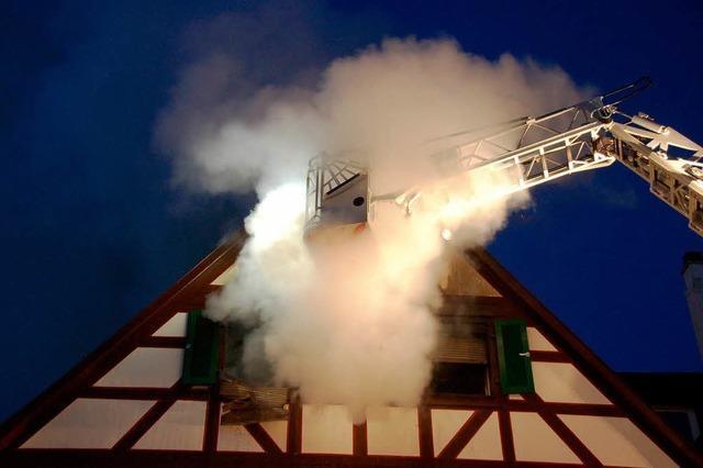 Offensichtlich keine Brandstiftung bei Offenburger Großbrand