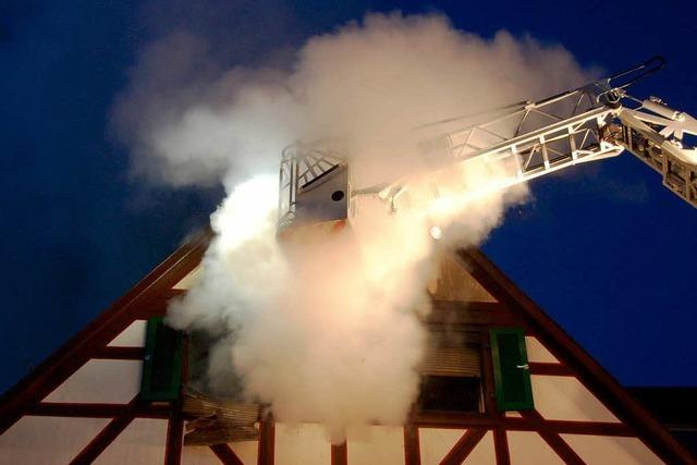 Familie steht nach Großbrand in Offenburg vor dem Nichts