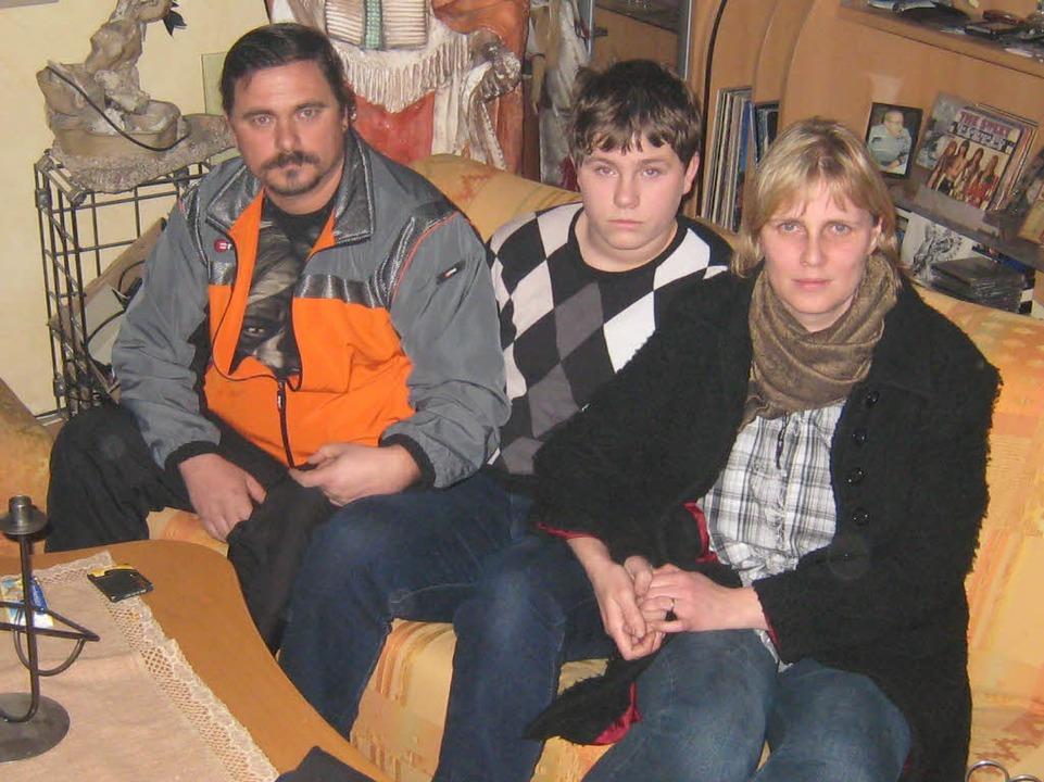 Ralf, Manuel und Heidi Herb.    Foto: Helmut Seller