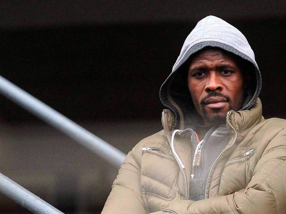 Mohamadou Idrissou – verlässt er demnächst den SC Freiburg?  | Foto: m schön