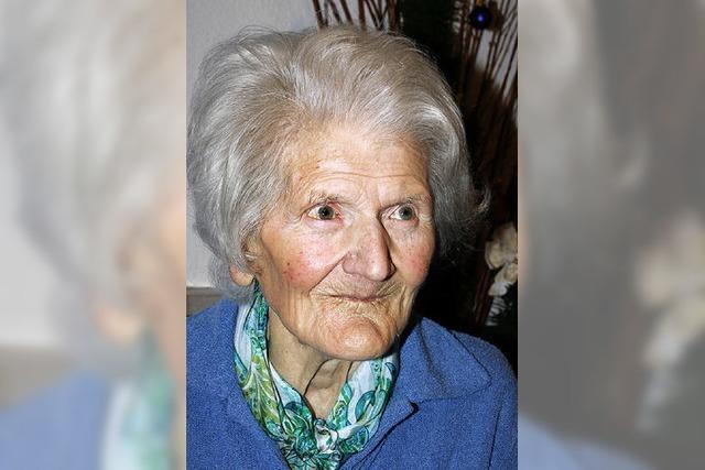 Marie Müller 95 Jahre alt