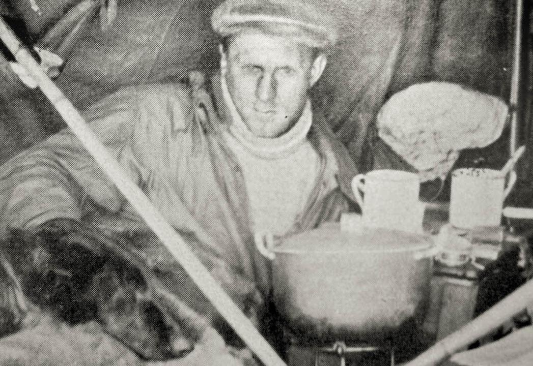 Bernhard Villinger, Polarforscher aus Lenzkirch  | Foto: Manfred-G. Haderer