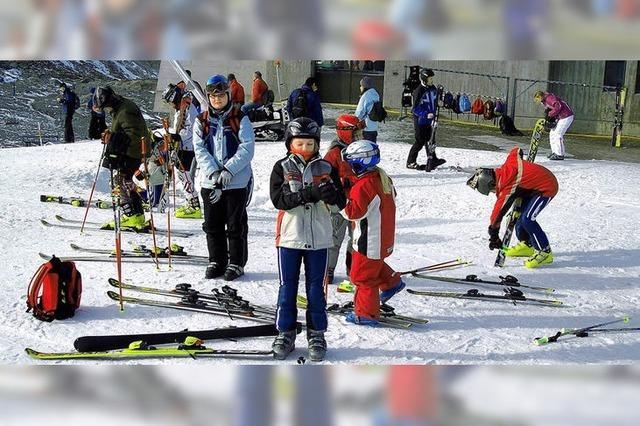 Mit Lust und Spaß in den Schnee