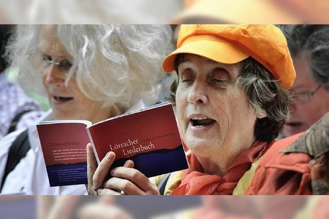 Liederbuch: Aus einer Stimme werden mehrere