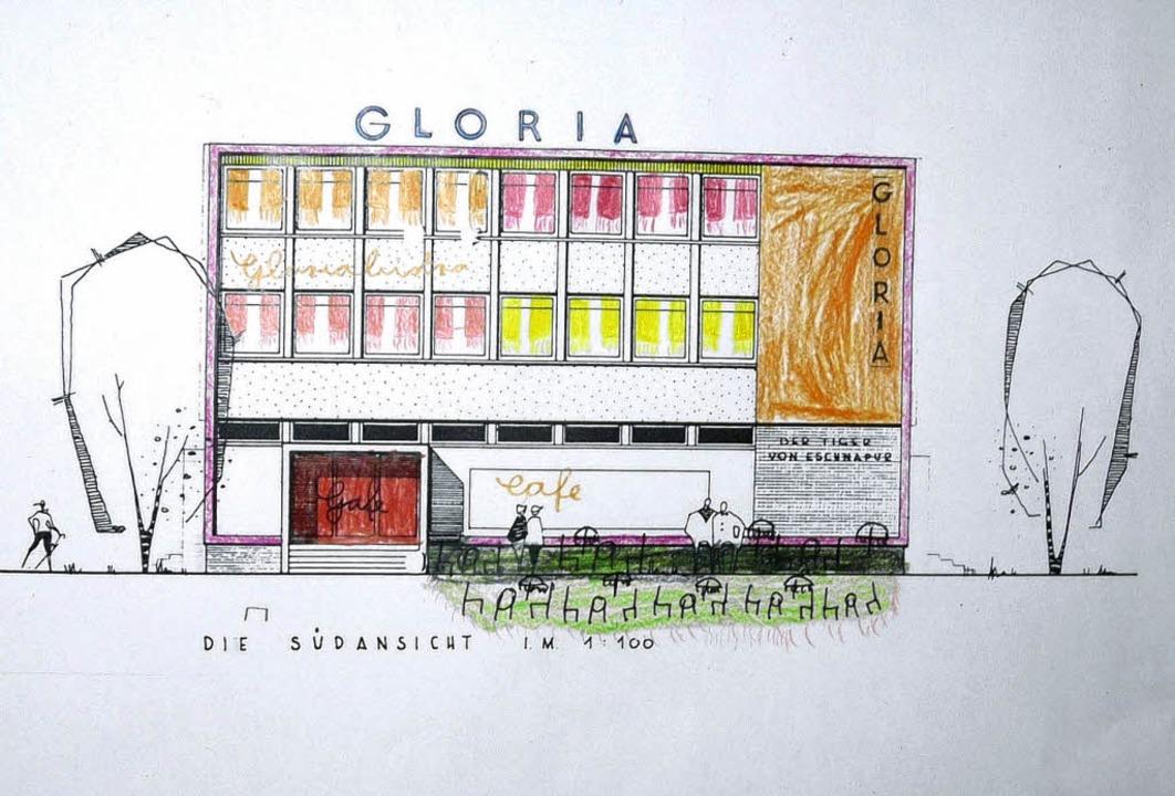 So bunt könnte das Gloria-Theater aussehen.   | Foto: Privat