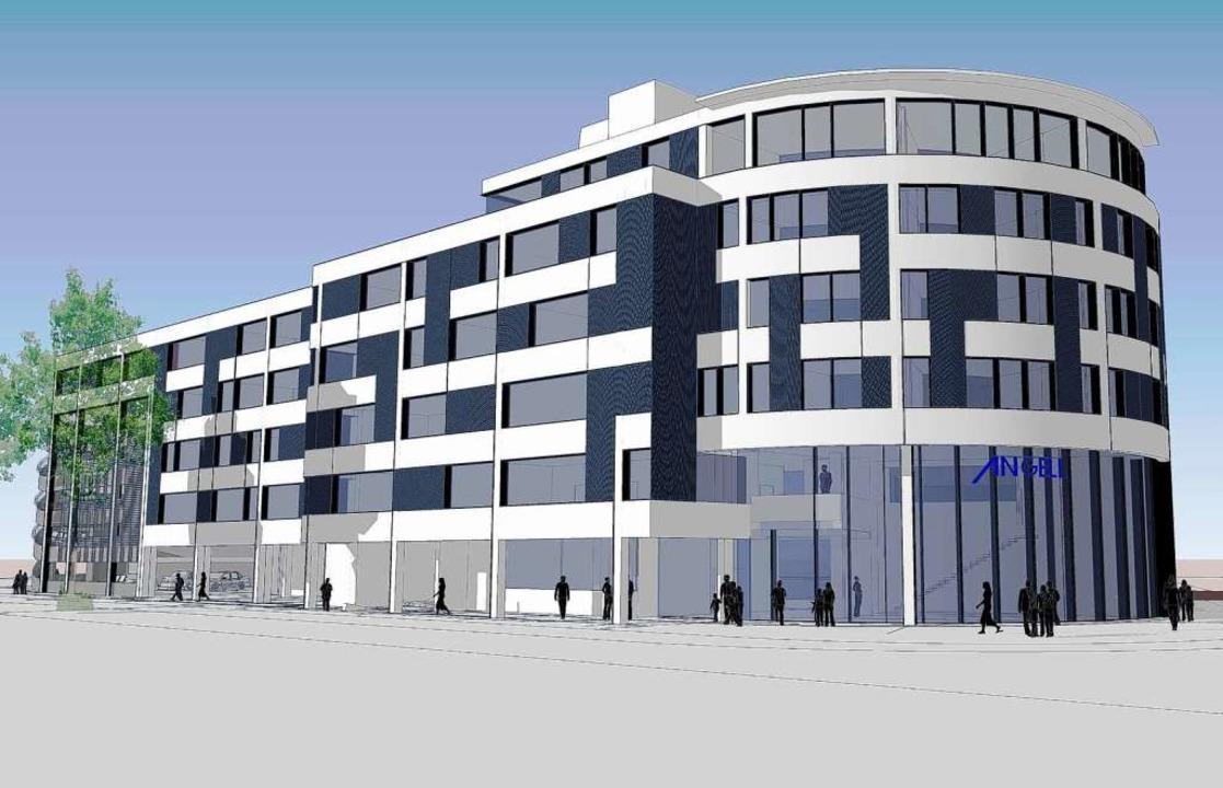 So wird das Gebäude der ANGELL-Akademie nach dem Umbau aussehen.  | Foto: ANGELL