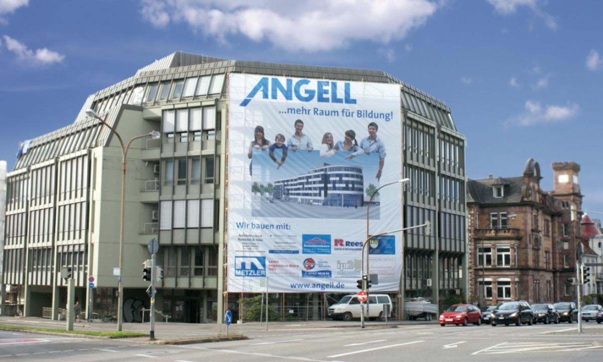 Das ANGELL BIldungszentrum befindet sich im Herzen Freiburgs.  | Foto: Angell