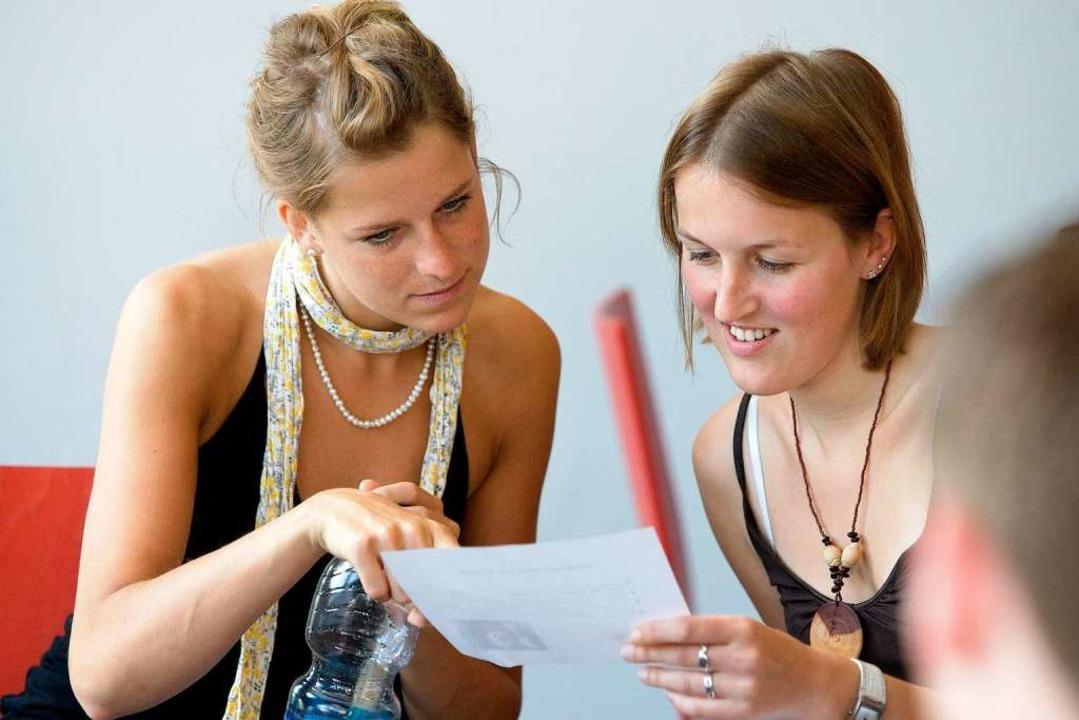 Ein zügiges Studium und schnelle Absch... das Ziel von Studenten und Pädagogen.  | Foto: Angell