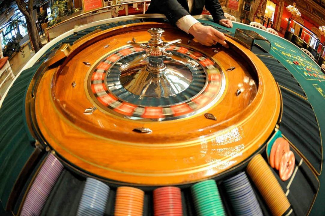 Roulettetisch im Casino.  | Foto: dpa