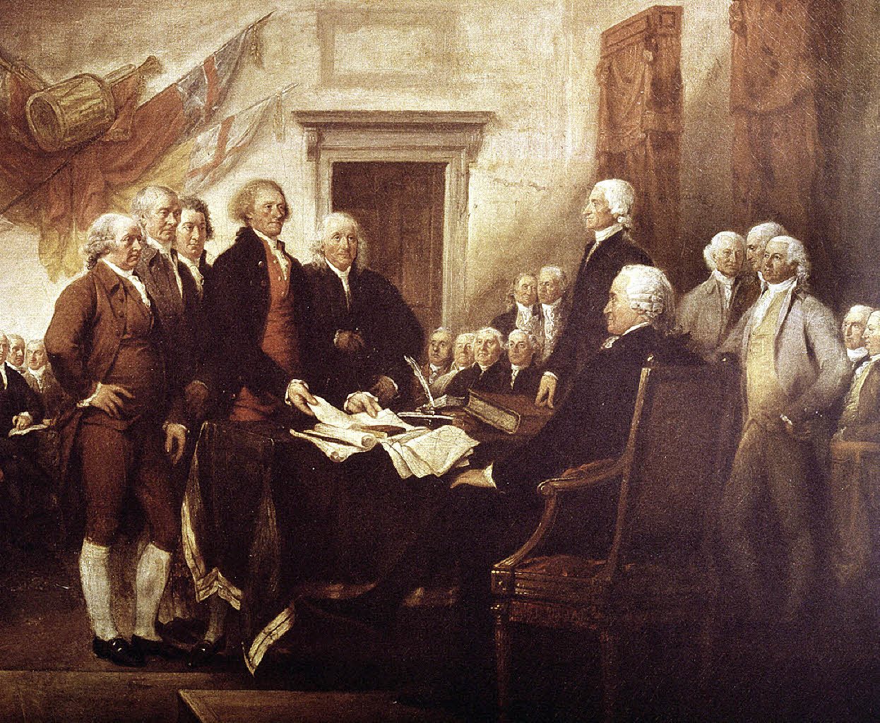 Amerika Unabhängigkeitserklärung