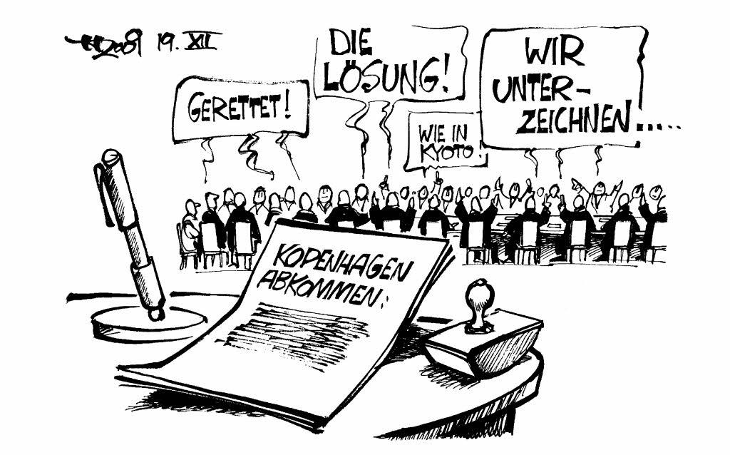 Und Halten Uns Einfach Wieder Nicht Dran!u0026quot; - Karikaturen - Badische Zeitung