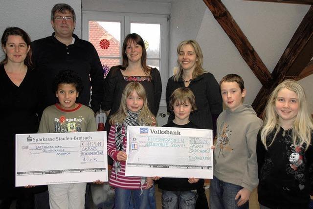 Freude über Spenden an die Schule