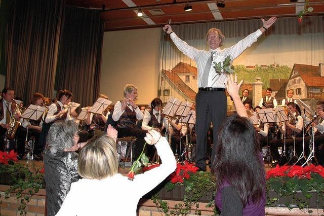 Rosen für den Dirigenten