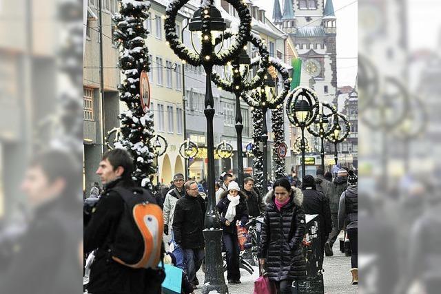 Endspurt fürs Weihnachtsgeschäft