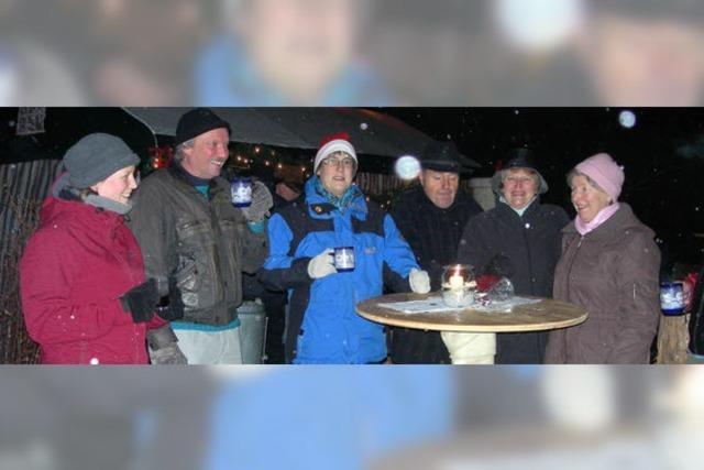 Dorfweihnacht am Schwedenfeuer