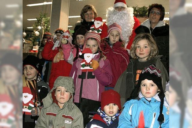 Nikoläuse basteln für den Nikolaus